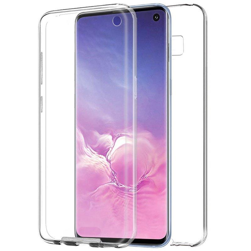 Funda Silicona 3D Samsung G973 Galaxy S10 (Transparente Frontal + Trasera)