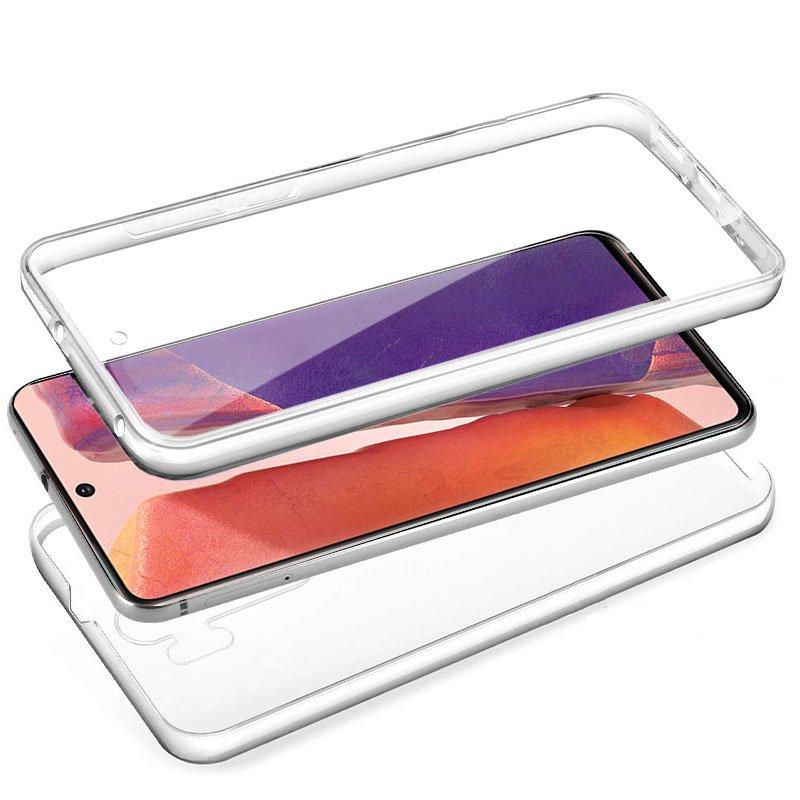 Funda Silicona 3D Samsung N980 Galaxy Note 20 (Transparente Frontal + Trasera)