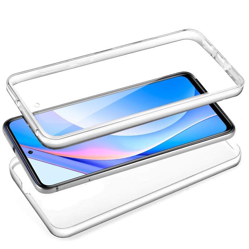 Funda Silicona 3D Xiaomi Mi 10T Lite (Transparente Frontal + Trasera)
