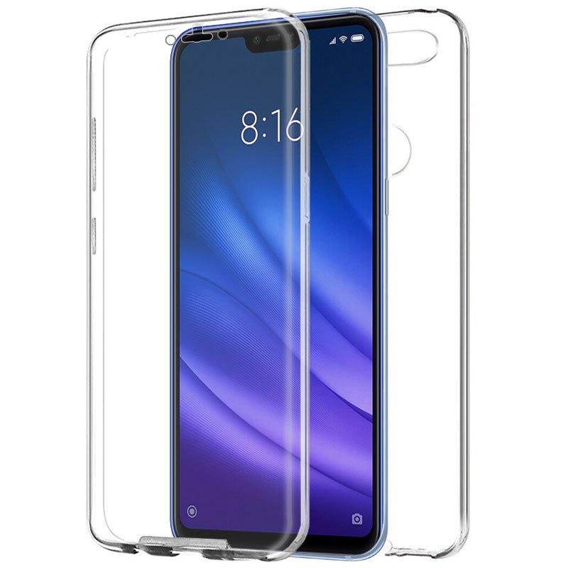 Funda Silicona 3D Xiaomi Mi 8 Lite (Transparente Frontal + Trasera)