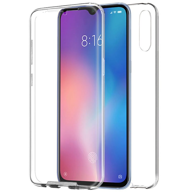 Funda Silicona 3D Xiaomi Mi 9 SE (Transparente Frontal + Trasera)