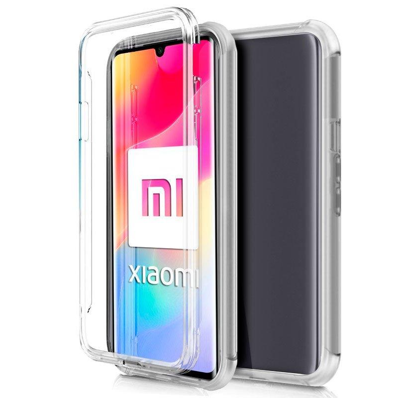 Funda Silicona 3D Xiaomi Mi Note 10 Lite (Transparente Frontal + Trasera)