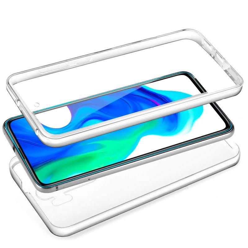 Funda Silicona 3D Xiaomi Pocophone F2 Pro (Transparente Frontal + Trasera)