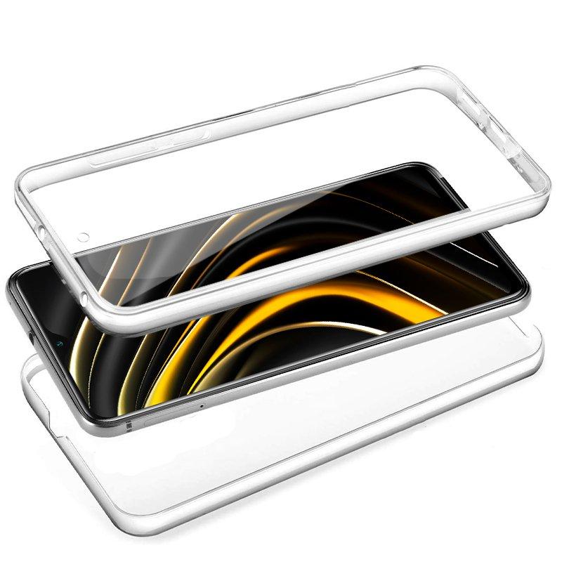 Funda Silicona 3D Xiaomi Pocophone M3 (Transparente Frontal + Trasera)
