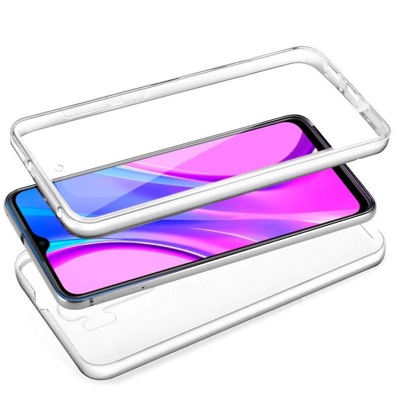 Funda Silicona 3D Xiaomi Redmi 9 (Transparente Frontal + Trasera)