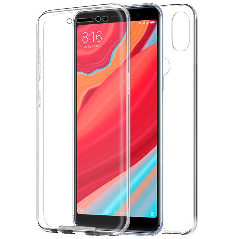 Funda Silicona 3D Xiaomi Redmi S2 (Transparente Frontal + Trasera)