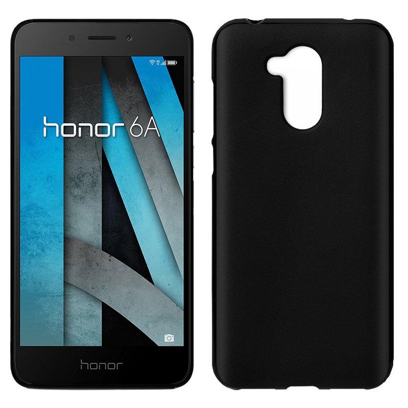 Funda Silicona Huawei Honor 6A (Negro)