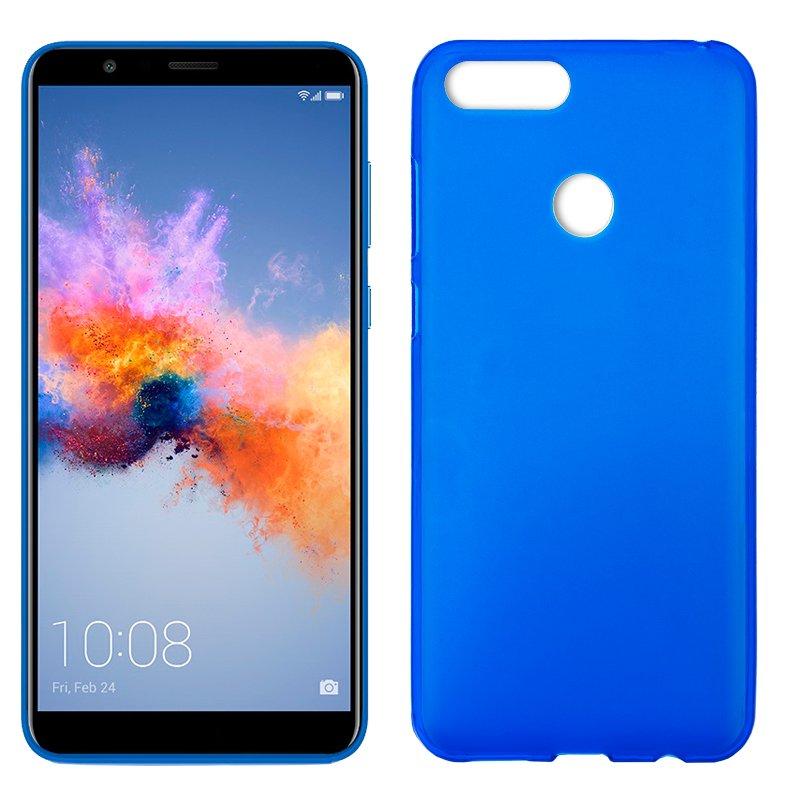 Funda Silicona Huawei Honor 7X (Azul)