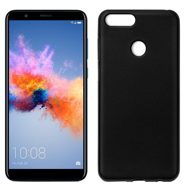 Funda Silicona Huawei Honor 7X (Negro)