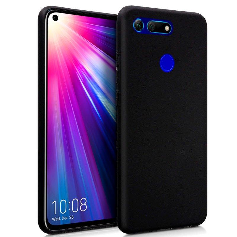 Funda Silicona Huawei Honor View 20 (Negro)
