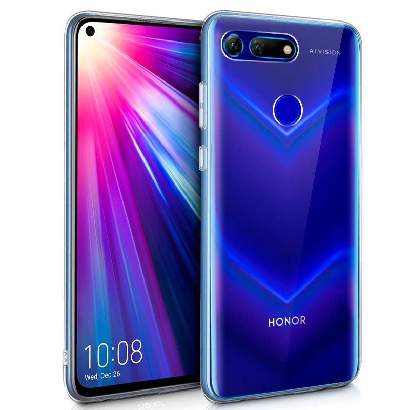 Funda Silicona Huawei Honor View 20 (Transparente)