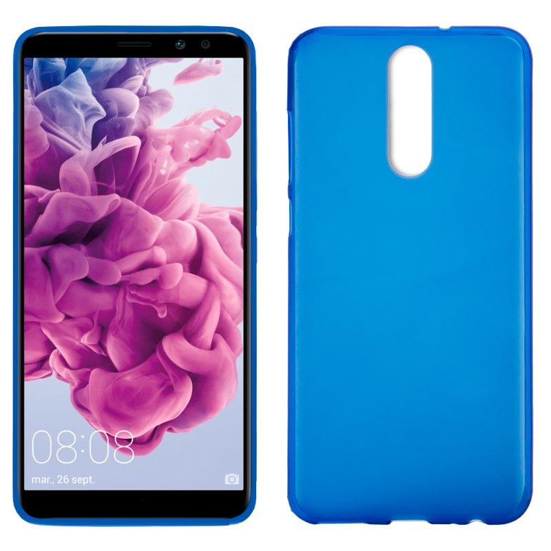 Funda Silicona Huawei Mate 10 Lite (Azul)