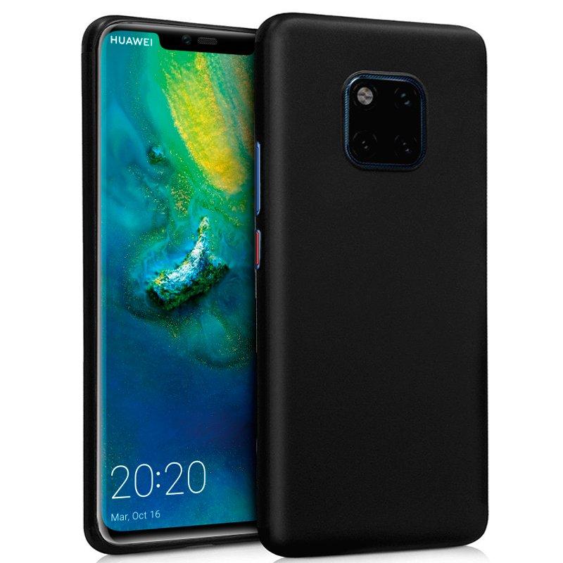 Funda Silicona Huawei Mate 20 Pro (Negro)