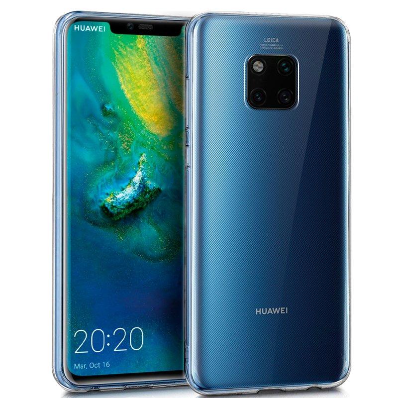 Funda Silicona Huawei Mate 20 Pro (Transparente)