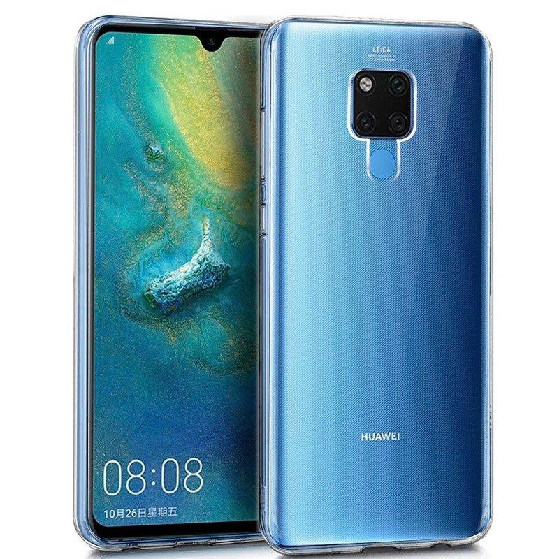 Funda Silicona Huawei Mate 20 X (Transparente)
