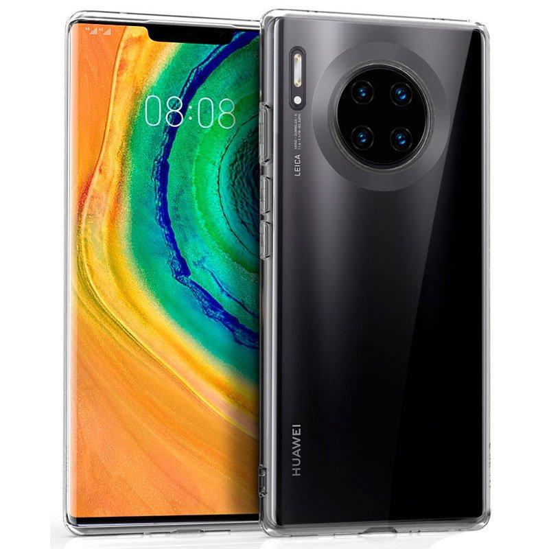 Funda Silicona Huawei Mate 30 Pro (Transparente)