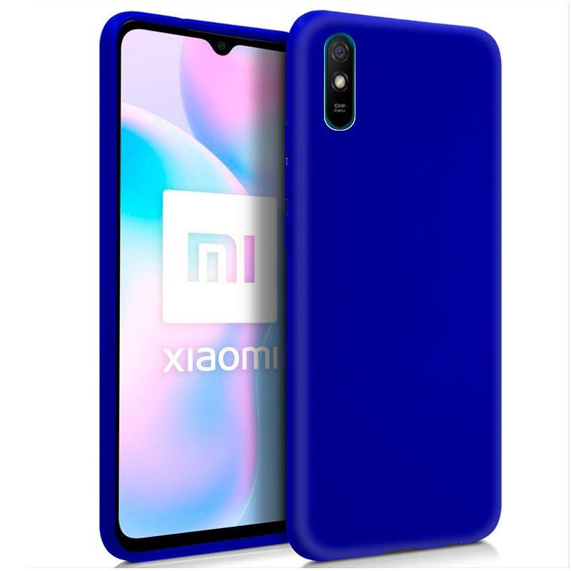 Funda Silicona Xiaomi Redmi 9A / 9AT (Azul)