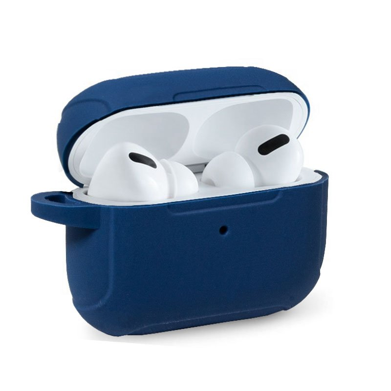 Funda Soft Silicona Apple Airpods Pro (Azul)