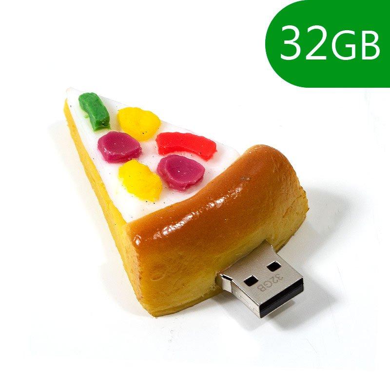 Pen Drive USB x32 GB Silicona Pizza
