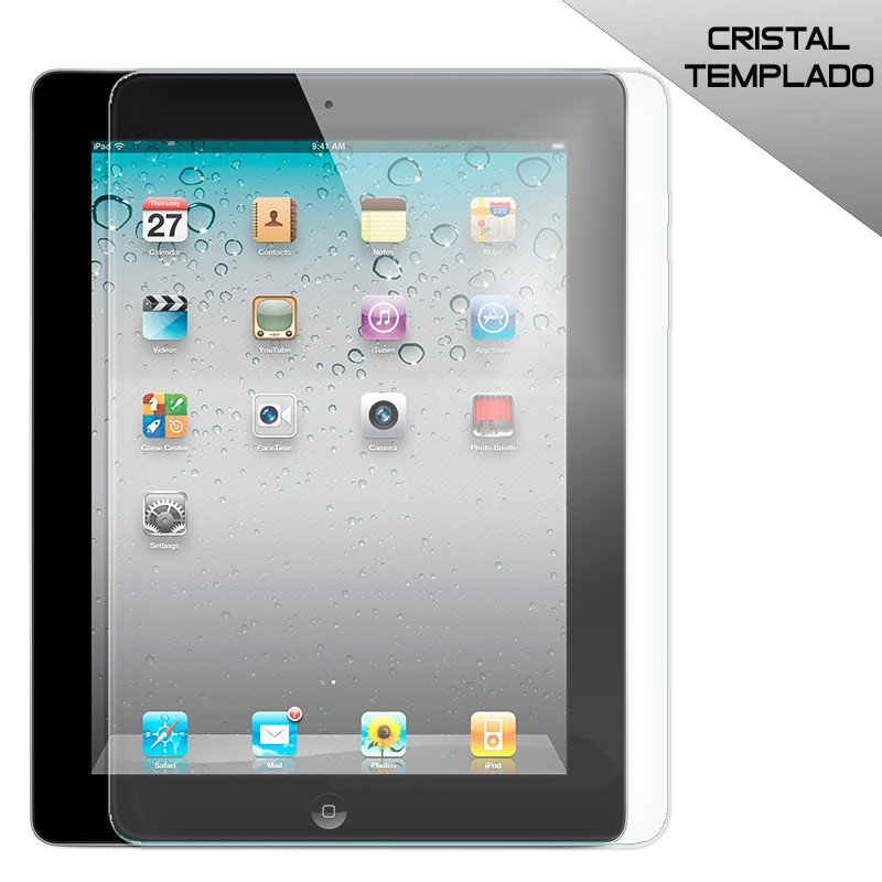 Protector Pantalla Cristal Templado iPad 2 / iPad 3 / iPad 4 Retina