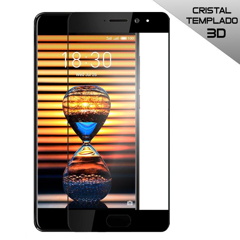 Protector Pantalla Cristal Templado Meizu Pro 7 (3D Negro)