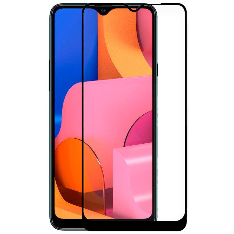 Protector Pantalla Cristal Templado Samsung A207 Galaxy A20s (FULL 3D Negro)