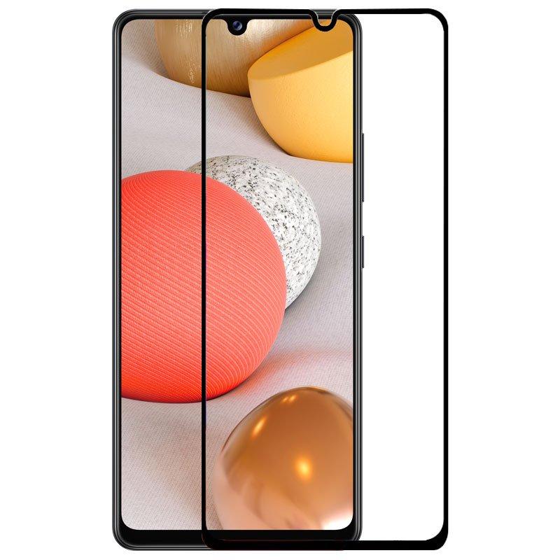 Protector Pantalla Cristal Templado Samsung A426 Galaxy A42 5G (FULL 3D Negro)