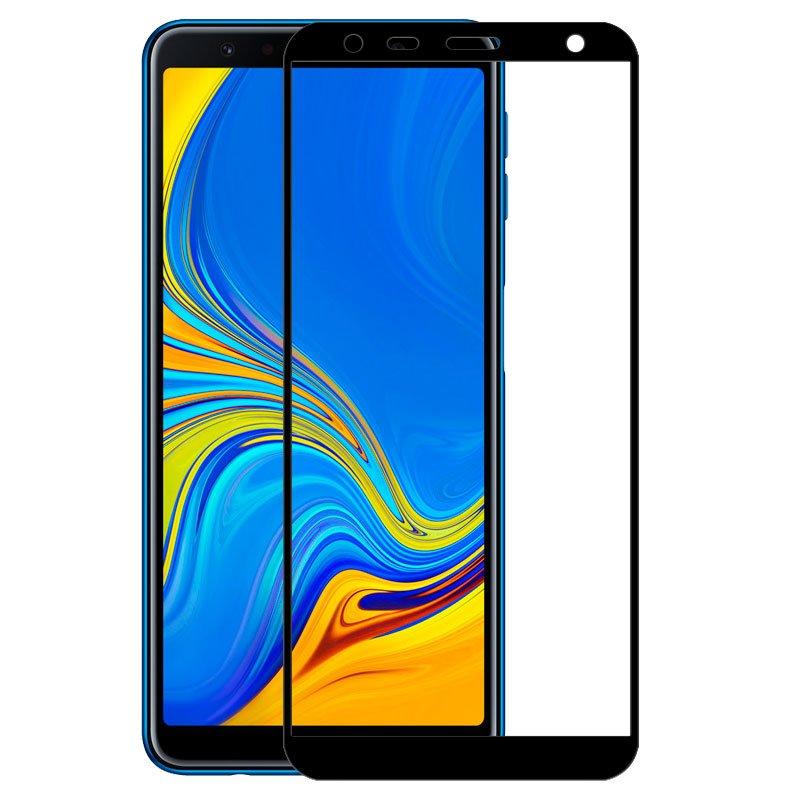 Protector Pantalla Cristal Templado Samsung A750 Galaxy A7 (FULL 3D Negro)