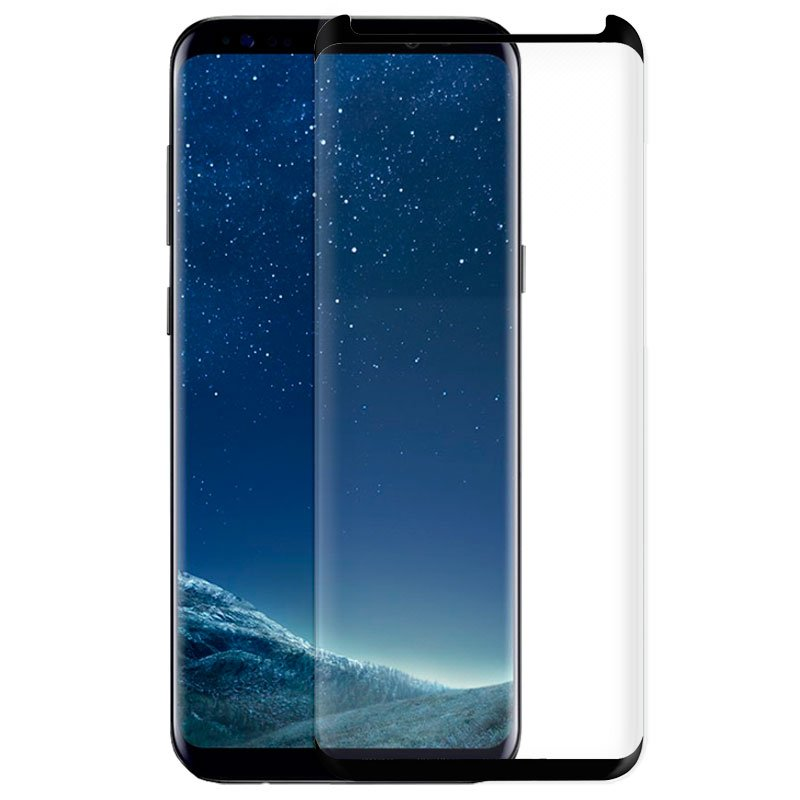 Protector Pantalla Cristal Templado Samsung G955 Galaxy S8 Plus (Curvo)