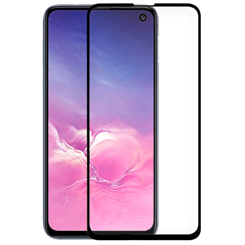 Protector Pantalla Cristal Templado Samsung G970 Galaxy S10e (FULL 3D Negro)