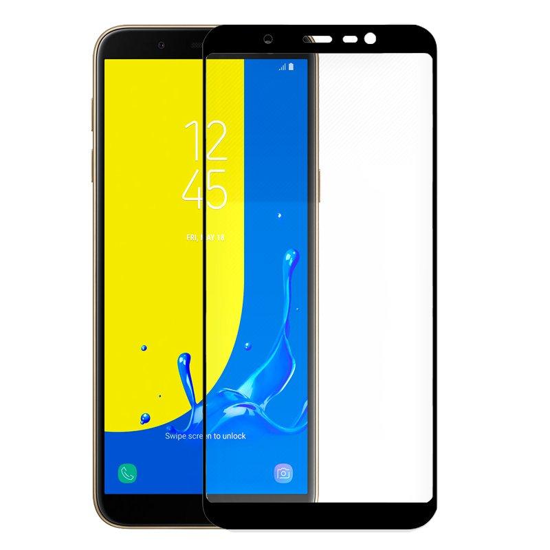 Protector Pantalla Cristal Templado Samsung J600 Galaxy J6 (FULL 3D Negro)