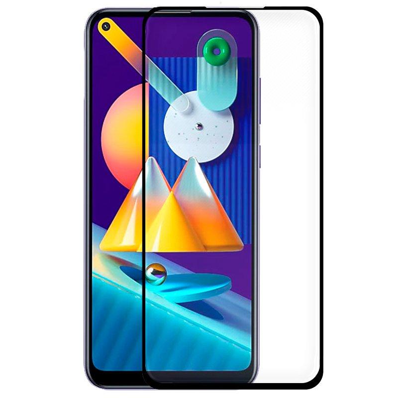 Protector Pantalla Cristal Templado Samsung M115 Galaxy M11 / A11 (FULL 3D Negro)