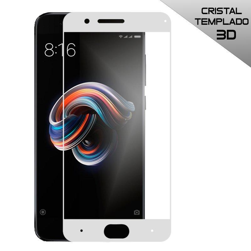 Protector Pantalla Cristal Templado Xiaomi Mi NOTE 3 (3D Blanco)