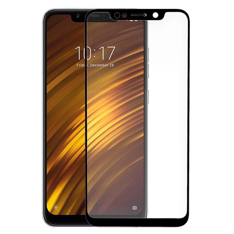 Protector Pantalla Cristal Templado Xiaomi Pocophone F1 (FULL 3D Negro)