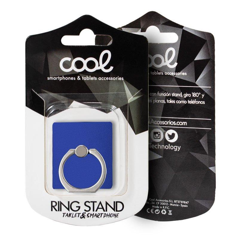 Soporte Ring Stand COOL Liso Marino
