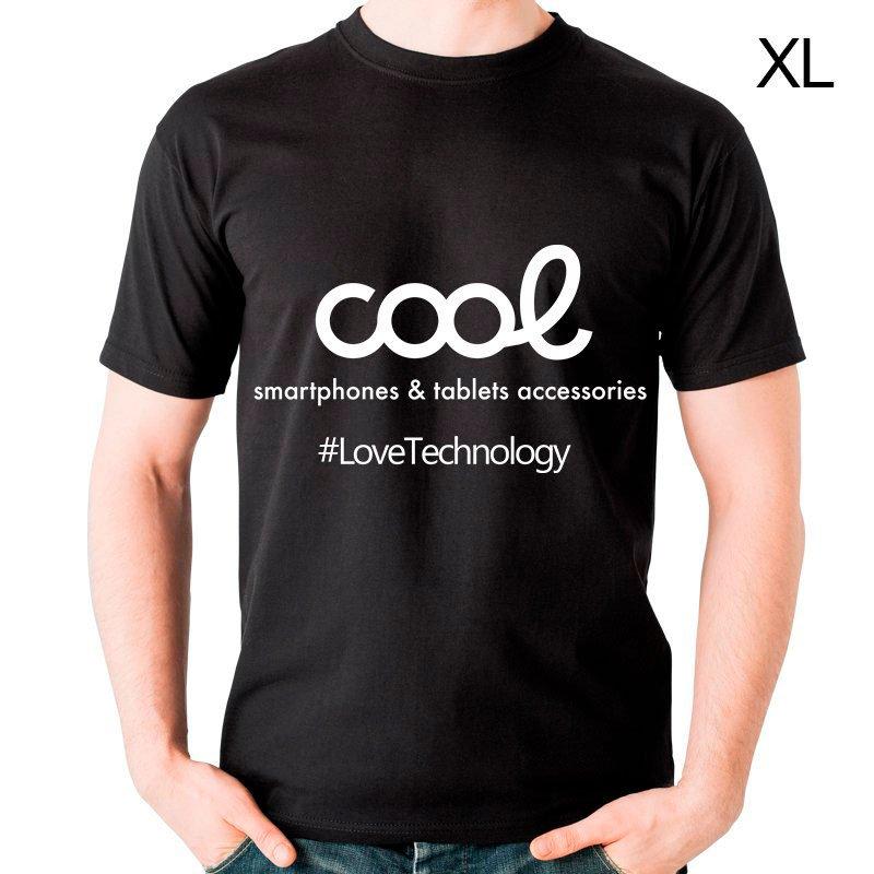 Textil Camiseta Cool Accesorios Talla XL (Unisex) Negro