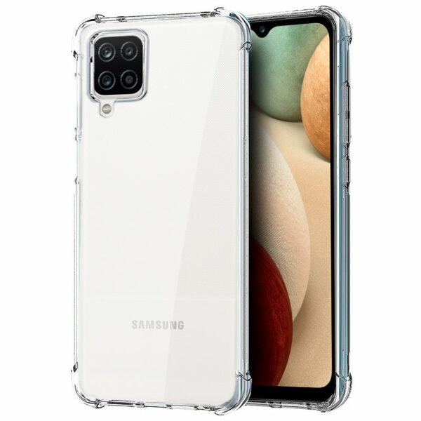 Carcasa COOL para Samsung A125 Galaxy A12 AntiShock Transparente