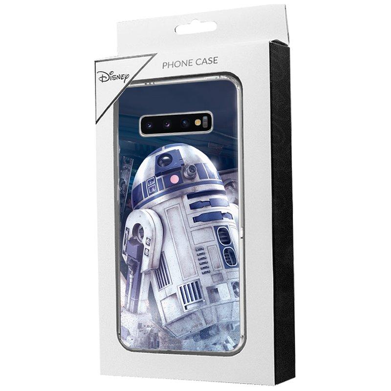 Carcasa COOL para Samsung G975 Galaxy S10 Plus Licencia Star Wars R2D2