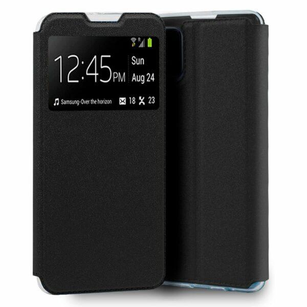 Funda COOL Flip Cover para LG K42 Liso Negro