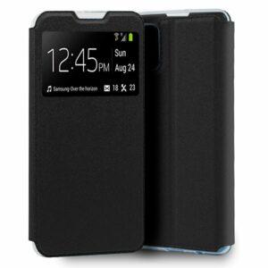 Funda COOL Flip Cover para Oppo A73 5G Liso Negro