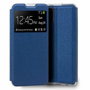 Funda COOL Flip Cover para Samsung A025 Galaxy A02s Liso Azul