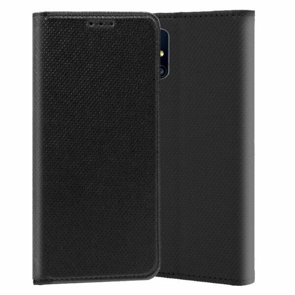Funda COOL Flip Cover para Samsung M317 Galaxy M31s Liso Negro