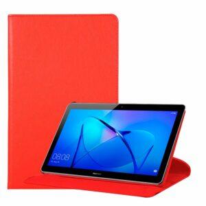 Funda COOL para Huawei Mediapad T3 Polipiel Liso Rojo 9.6 pulg
