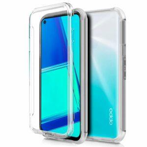 Funda COOL Silicona 3D para Oppo A52 / A72 / A92 (Transparente Frontal + Trasera)