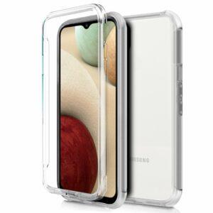 Funda COOL Silicona 3D para Samsung A125 Galaxy A12 (Transparente Frontal + Trasera)