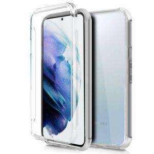 Funda COOL Silicona 3D para Samsung G996 Galaxy S21 Plus (Transparente Frontal + Trasera)