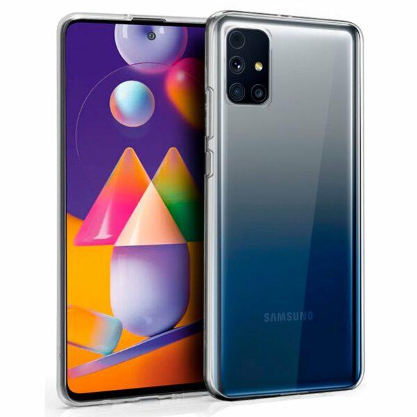 Funda COOL Silicona para Samsung M317 Galaxy M31s (Transparente)