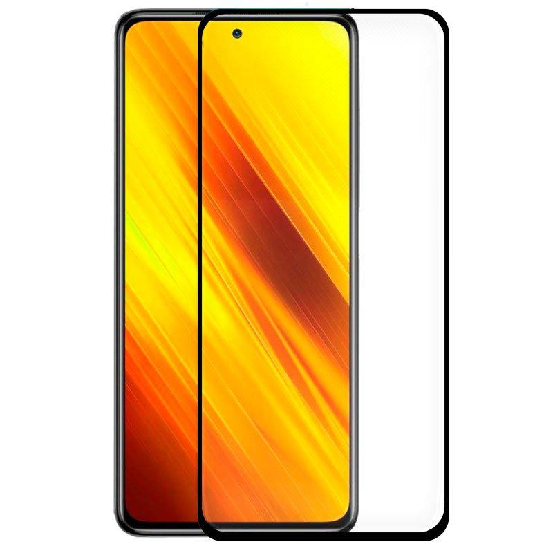 Protector Pantalla Cristal Templado COOL para Xiaomi Pocophone X3 (FULL 3D Negro)
