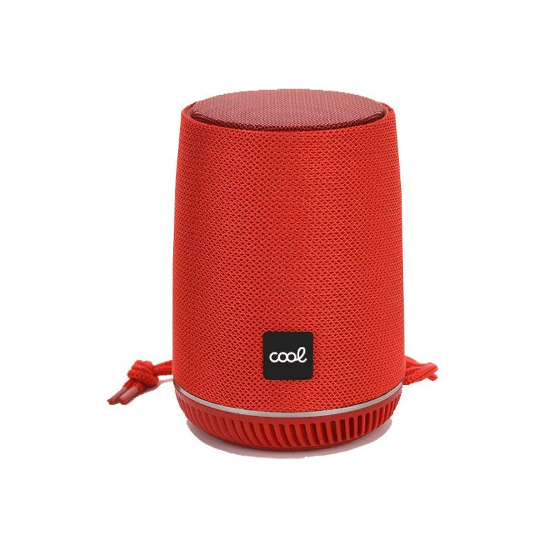 Altavoz Bluetooth Universal Música 5W COOL Manchester Rojo