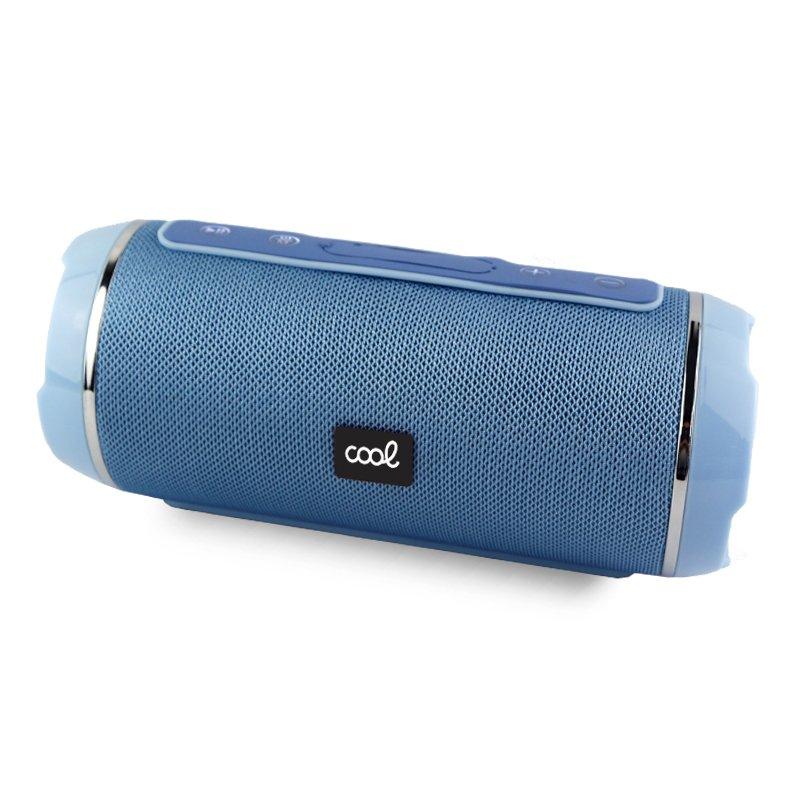 Altavoz Música Universal Bluetooth COOL Amsterdam Celeste (10W)